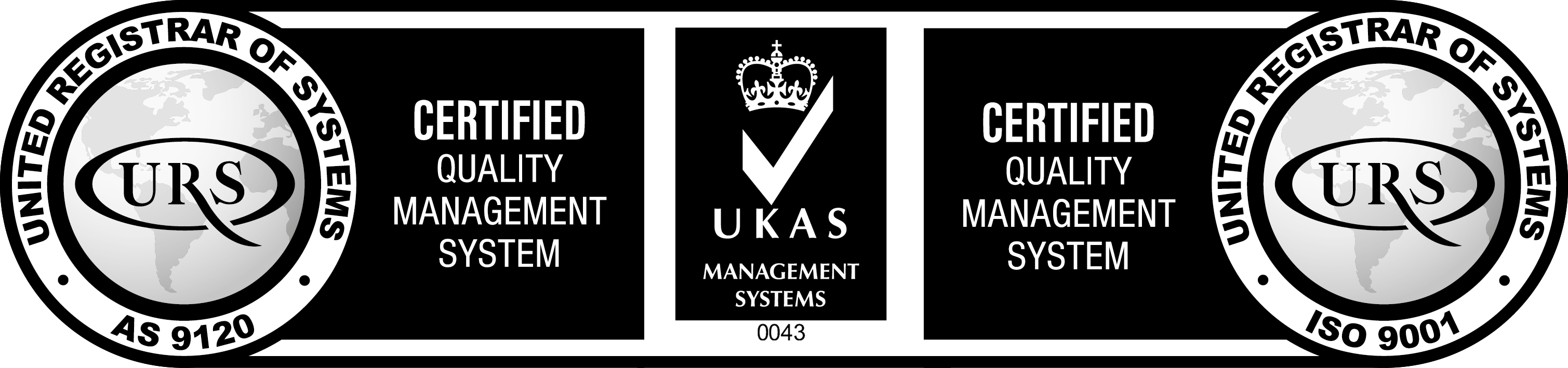 AS9120B Quality Management Standard Achieved