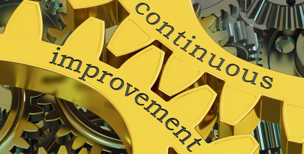 Continuous Improvement :  5S in action throughout our Warehouse